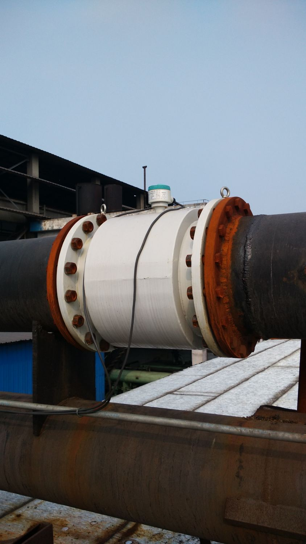 河南林州某鑄業公司項目用電磁流量計1
