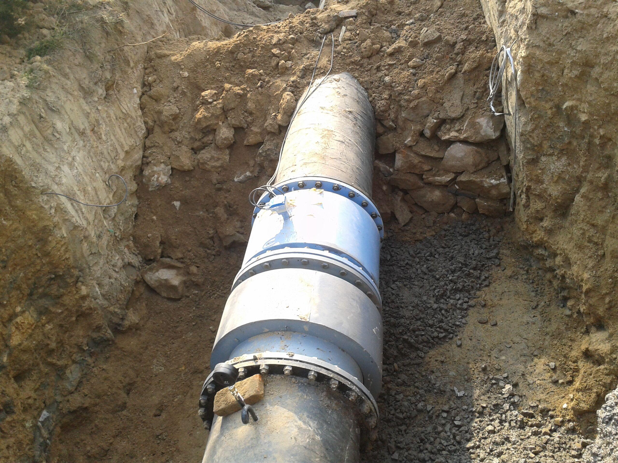 郓城县某项目用插入式涡街流量3