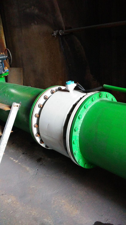 河南林州某鑄業公司項目用電磁流量計
